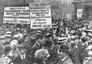 The 1915 Glasgow Rent strike